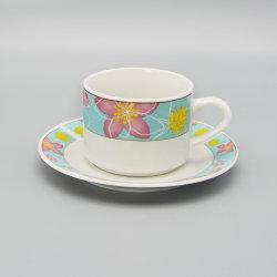 Китай оптовой керамические чашки и форму диска с Handgripe