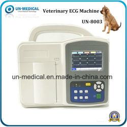 Macchina interpretativa portatile del veterinario tre 3-Channel ECG delle attrezzature mediche