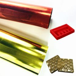 0.08-1mm PVC colorido PP Pet películas rígidas Folhas para embalagem blister de Medicina