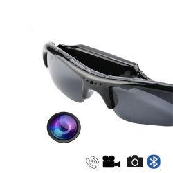 La tecnología inalámbrica Bluetooth MP3 Gafas Cámara el apoyo de manos libres TF Deporte HD grabador de vídeo DV Camcorder gafas inteligentes