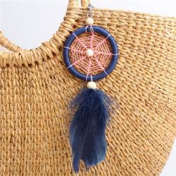 2018 Feather Dream Catcher pendaison Poignée de commande Mode bijoux Accessoires de décoration de sac à main