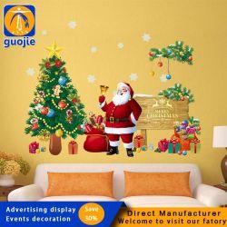 Joyeux Noël autoadhésif Funlife muraux étanche mur autocollant pour vacances heureuse nouvelle année de la décoration