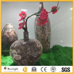 Onyx de lujo en la Artesanía, Floreros para la decoración del hogar