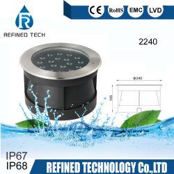18W à LED IP67 Inground Lampe à LED métro Pont de lumière Light