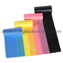 Sacchetto di immondizia a perfetta tenuta degradabile all'ingrosso di imballaggio di plastica
