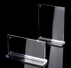 Различные технические характеристики акриловых подставка для дисплея карты памяти для установки в стойку Прейскурант сильных магнитных таблице знак