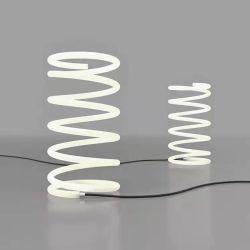 Sprung-Tisch-Lampe, moderne Tisch-Lampe für Wohnzimmer
