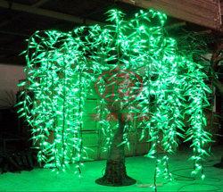 LED 220V imprägniern feenhaftes Emulation-Weide-Baum-Licht für im Freiendekoration