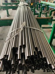 أنبوب من الفولاذ المقاوم للصدأ، ASTM TP304/TP304L، أنابيب تسخين الغلاية، OD 21,7 مم/25,4 مم