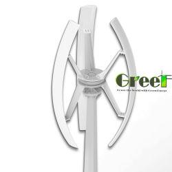السقف AC بسُقف بقدرة 1 وات ثلاثي الأطوار، استخدم السرعة المنخفضة بدون استخدام المخطط توربين رياح رأسية