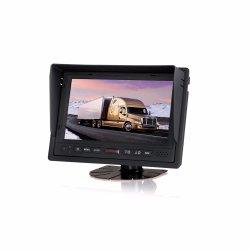 Vista trasera de 7 pulgadas, pantalla LCD Monitor Monitor con el Parasol extraíble