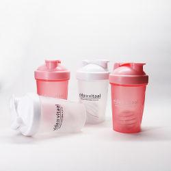 400 ml Sport Ginásio água plástica proteína vaso vaso do sacudidor