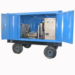 Motor Diesel de 1000bar limpiador de alta presión La presión del agua Limpiador industrial