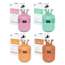 실린더 Refrigerante 처분할 수 있는 가스 프레온 (R22, R134A, R410A, R290, R404A, R407C, R507, R600A, R32, R438A)
