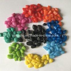 Natürlicher Mehrfarbenstein farbige Kiesel-Steine für die Fisch-Becken-Dekorationen und Landschaftsgestaltung