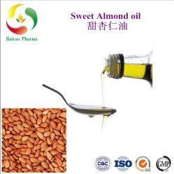 Olie Van uitstekende kwaliteit van de Carrier van de Leverancier van de Olie van de Zoete Amandel van de Olie van de amandel de 100% Natuurlijke Zuivere voor de Kosmetische Olie van de Basis voor de Massage van het Lichaam