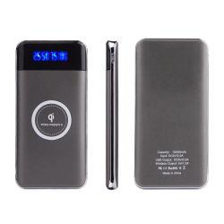 10000mAh cargador de teléfono móvil de mayorista de energía inalámbrica Qi Bank