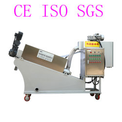 El filtro automático de 24 horas tipo tornillo de la Prensa de la máquina de deshidratación de lodos