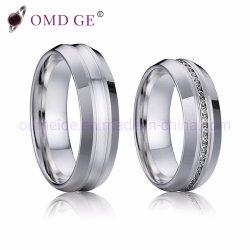 Concavedの習慣のための表面の銀製のステンレス鋼のリング