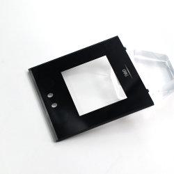 Пользовательские резки с ЧПУ печать акрилового волокна с паспортными данными для микрофона