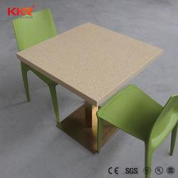 20mm épais haute résistance de la pierre artificielle la marqueterie de marbre Table Top