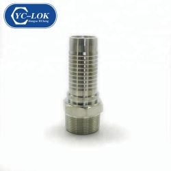 스웨이지드 스탠다드 JB O-링 미터법 수 평판형 유압 튜브 이음쇠