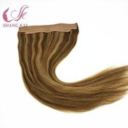 Double tirées des cheveux humains trames Flip dans les cheveux Extenson Remy Sèche Cheveux naturels