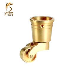 Rodízios de latão rodízios de cobre para mobiliário Sofá Graxeiras