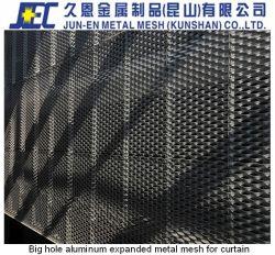 Алюминиевый корпус расширения наружной стены металлический сетчатый сравняли с землей или