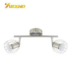 LED 현대 호화스러운 수정같은 유리 천장 호텔 홈 샹들리에 GU10 할로겐 전구 램프 반점 빛