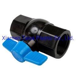 Matériau plastique PVC haute pression Star clapet à bille