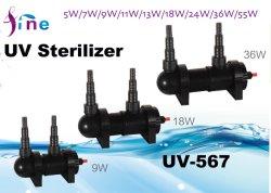 99 % d'eau clarificateur lampe ultraviolet Filtre avec de la lumière UV 7 W