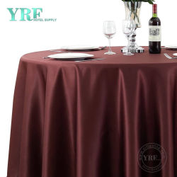 Casamento grossista Luxo Yrf 132 Rodada Champanhe pano de mesa