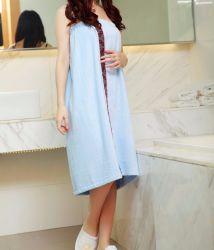 Горячая Продажа 100% хлопок махровые банные халаты ткань халат для взрослых