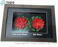 Super alta Anti-Ultraviolet Folha de vidro transparente para exibição (AR-TP)