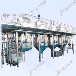 Óleo de girassol planta de processamento