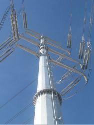 Гальванизированный Self-Supporting электрической энергии на линии электропередачи стальные трубы в корпусе Tower