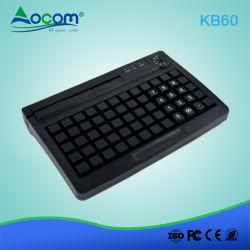Кб60 программируемые клавиатуры POS порт USB/PS2 с помощью считывателя магнитной карты