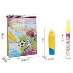 Água de desenho Pintura Caneta Magic Doodle Mat livro de bordo Imprimir