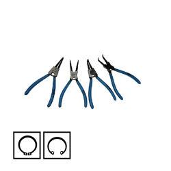 De Reeks van Circlip Plier van de Hulpmiddelen van de Hand van Fixtec 4PCS