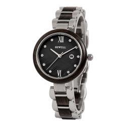 2021nueva llegada Bewell Relojes OEM de Acero Inoxidable con madera para hombres y mujeres llevan reloj de pulsera joyería personalizada Ccao Watch Reloj