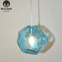 Esszimmer-Dekoration-Glashängende Steinlampe