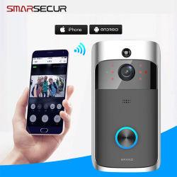 La sécurité WiFi Smarsecur Sonnette de porte vidéo de vision de nuit Téléphone