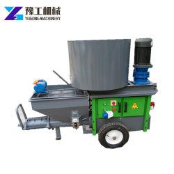 Ignifugation de mortier de ciment de la pompe de pulvérisation pulvérisation en stuc de plâtre machine