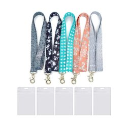 Cute Cool Keys Lanyard Durable en Premium Quality Key voor dames met ID badge houders