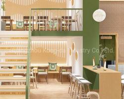 Banco di mostra di legno del caffè di stile della visualizzazione della vetrina del caffè del contatore moderno del negozio