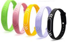 RFIDのシリコーンの手首のカードの体操の誘導ICのブレスレットの防水腕時計のカード