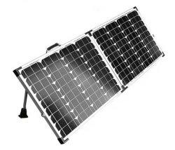 Panel solar plegable 110W Kit de mono para cargar la batería 12V (la cara exterior y ninguna alarma)