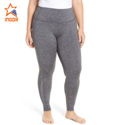 Сжатие Йога Legging High-Waisted всегда короче плюс размер женщин брюки