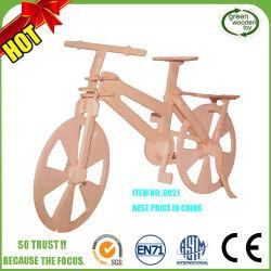 3D 자전거 나무 퍼즐 장난감